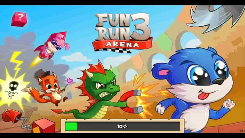Fun Run 3 MOD APK 3.9.5 (Fast Speed/God Mode) Free Download
