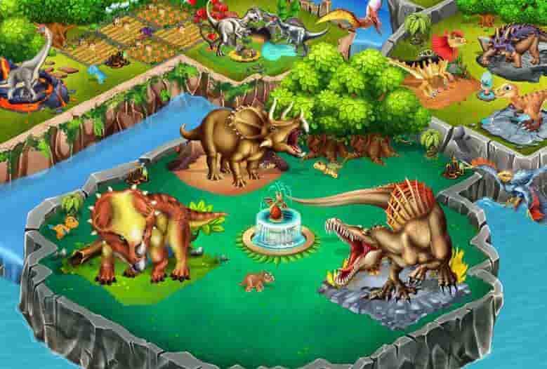 Dino Battle Mod Apk