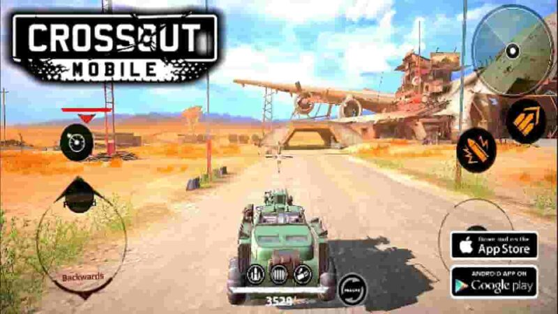 Crossout Mobile Mod Apk + Data 0.8.2.35893 (Gold) Free Download