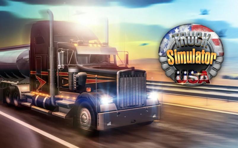 Truck Simulator USA MOD APK 2.2.0 (Unlimited Gold) Download