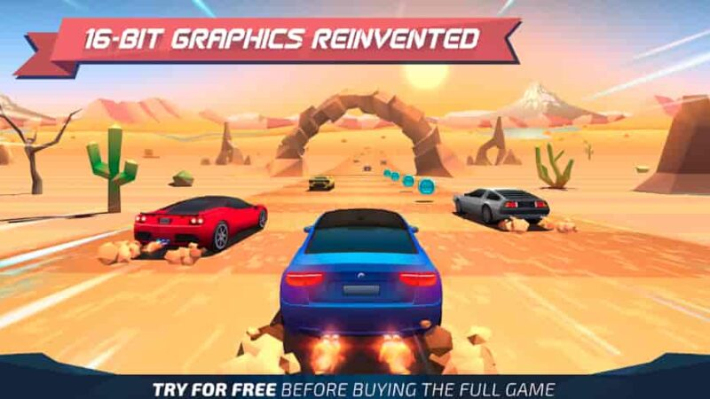 Horizon Chase Mod Apk + Data 1.9.26 (Unlimited Money) Download