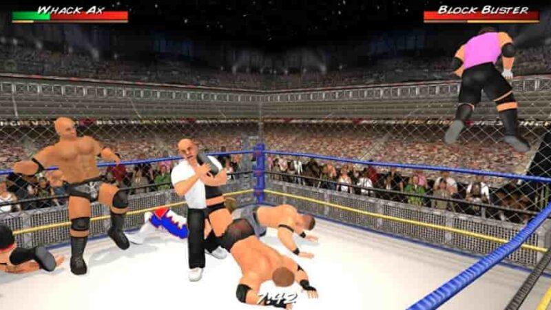 Wrestling Revolution 3D Mod Apk 1.719 (Unlocked) Download