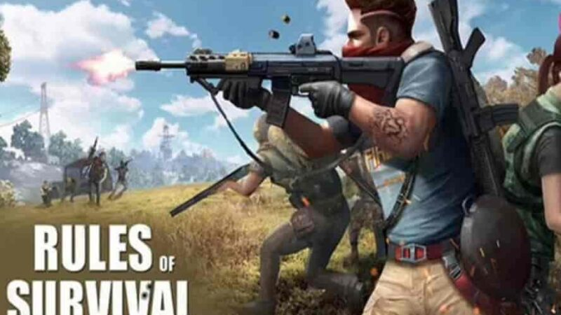 RULES OF SURVIVAL Mod Apk 1.610449.535978 (Patched) Download